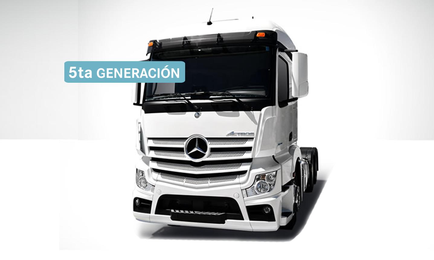 New Actros 2645LS - 5ta Generación