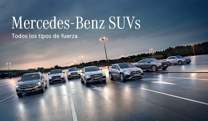 Mercedes-Benz SUVs